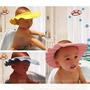 Protetor Para Olhos Ouvidos Chapeu Banho Bebe Cabelo Crianca