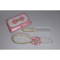 Kit Customizado De Pente E Escova Saboneteira Para Bebe