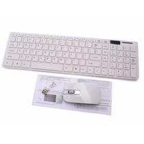 Kit Teclado + Mouse Wireless 2.4ghz Multimidia +brinde+frete