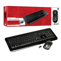Kit Teclado E Mouse Wireless Desktop 800 Microsoft