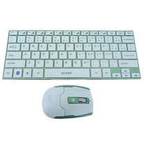 Mini Teclado Mouse Usb Aluminio Wireless Sem Fio Android Mac