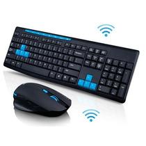 Kit Combo Teclado+mouse Sem Fio Hk3800 + Mouse Pad De Brinde