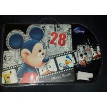 Mouse Usb Com Mouse Pad Personagens Da Disney