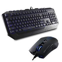 Kit Teclado Mouse Cm Storm Devastator Cooler Master Gamer