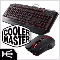 Kit Gamer Teclado Mouse Cm Storm Devastator Cooler Master