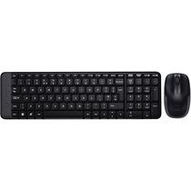 Teclado E Mouse Wireless Combo Mk220 Logitech