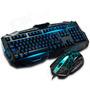 Combo Gamer Teclado + Mouse 1600dpi League Of Legends Cs K65