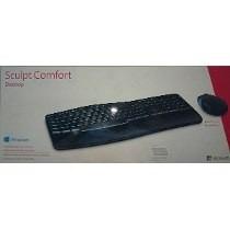 Kit Teclado+mouse Wireles Microsoft Sculpt Comfort-l3v-00005