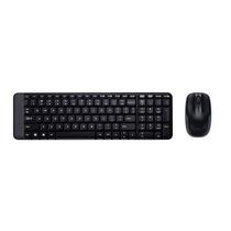 Kit Teclado E Mouse Wireless Logitech Mk220 Preto Sem Fio...