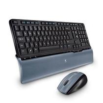Kit Logitech Cordless Desktop S520 - Teclado + Mouse Com Ç !