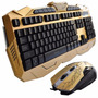 Kit Gamer Teclado + Mouse Multimídia Usb 1000dpi Jogo Game