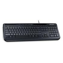 Kit Mouse E Teclado Wired Desktop 600 Preto Usb Microsoft
