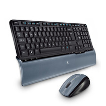 Kit Teclado E Mouse Sem Fio Wireless Logitech S520 Top