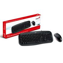 Kit Teclado E Mouse Genius 31330200119 Km-200 Usb Teclado M