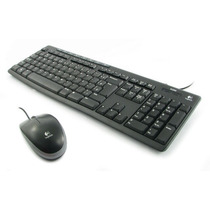 Kit Logitech Media Combo Mk200 - Teclado + Mouse Multimídia
