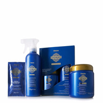 Amend Kit Escova Definitiva Gold Black Definitive Liss -novo