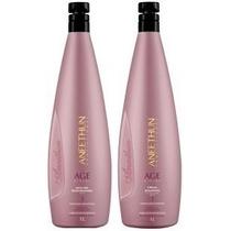 Kit Shampoo + Máscara Age System 1l Aneethun Profissional