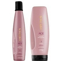 Kit Shampoo + Mascara Age System Plástica Capilar Aneethun
