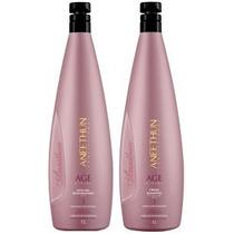 Kit Shampoo + Máscara Age System 1l Aneethun (profissional)