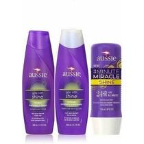 Kit Aussie Shine - Shampoo + Condicionador + Máscara