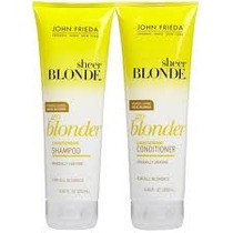 John Frieda Go Blonder Kit Shampoo + Condicionador - 250ml