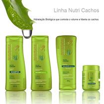 Kit Bioextratus Nutri Cachos Tratamento Capilar 04 Produtos