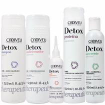 Cadiveu Detox Capilar Kit Profissional 5 Produtos