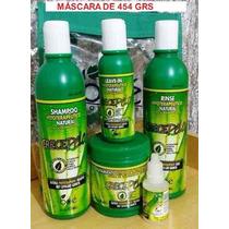 Kit Crece Pelo Boé 5 Itens Ampola-leave- Mascara-cond-shampo