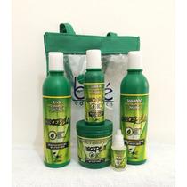 Kit Boé Crece Pelo C/5 Itens Shampoo+cond.+mascara+leave-in+