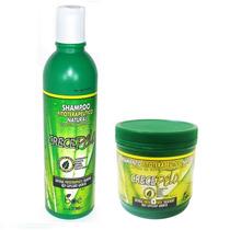 Kit Crece Pelo Boé Shampoo 370ml + Mascara 450gr Crecepelo