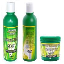 Kit Shampoo E Condic E Mascara Crece Pelo Boé Crecepelo