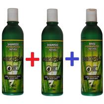 Kit Crece Pelo 2 Shampoos + 1 Condicionador Boé Original