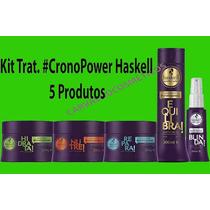 Kit Tratamento Haskell Cronopower 5 Produtos
