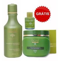Kit Inoar Shampoo + Máscara Hidratação Com Óleo De Argan