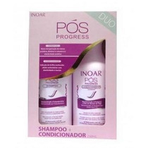 Inoar Pos Progressiva Kit Duo 250ml - Pronta Entrega!