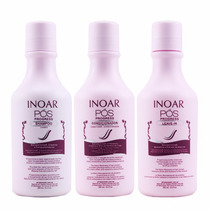 Inoar Kit Pós Progress 3 X 250ml