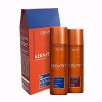 Kit Manutenção Shampoo + Condicionad 250ml Itallian Kerasoft