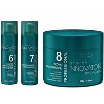 Kit Hidratação Profissional Innovator 3 Itens Nº 6,7 E 8