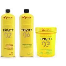 Kit Tratamento Pós Química 1 Litro !