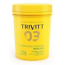 Trivitt Profissional Máscara Hidratação Intensiva Nº 3 1 Kg