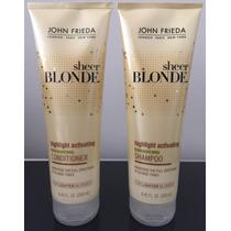 Kit John Frieda Sheer Blonde Shampoo + Condicionador 2x250ml