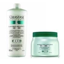 Kit Kérastase Resistance Shampoo + Máscara Force Architecte