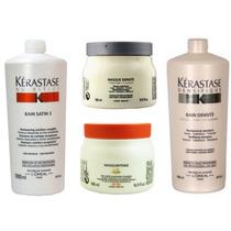 Kérastase Nutritive & Densifique - Shampoo 1l E Máscara 500g