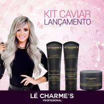 Kit Caviar Luxo P/ Cabelos Intensy Color Juju Salimeni
