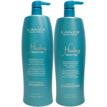 Kit Lanza 1l Moisture Shampoo 1000ml + Condic. 1000ml Litro