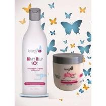 Mary Help + Glitter Cream (leads Care)