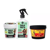 Más.tarja Preta + Spray Queratina Liquida + Creme Alisante