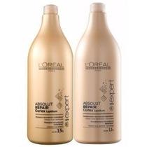 Kit Shampoo + Condicionador Loréal Absolut Repair 1,5l