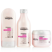 Loreal Vitamino Color Kit Shampoo+condicionador+máscara Home