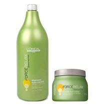 Loréal Force Relax Kit Shampoo + Máscara Nutri-control